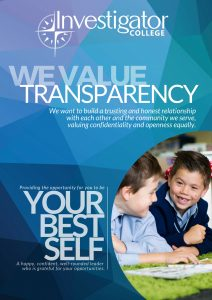 Value transparency Poster