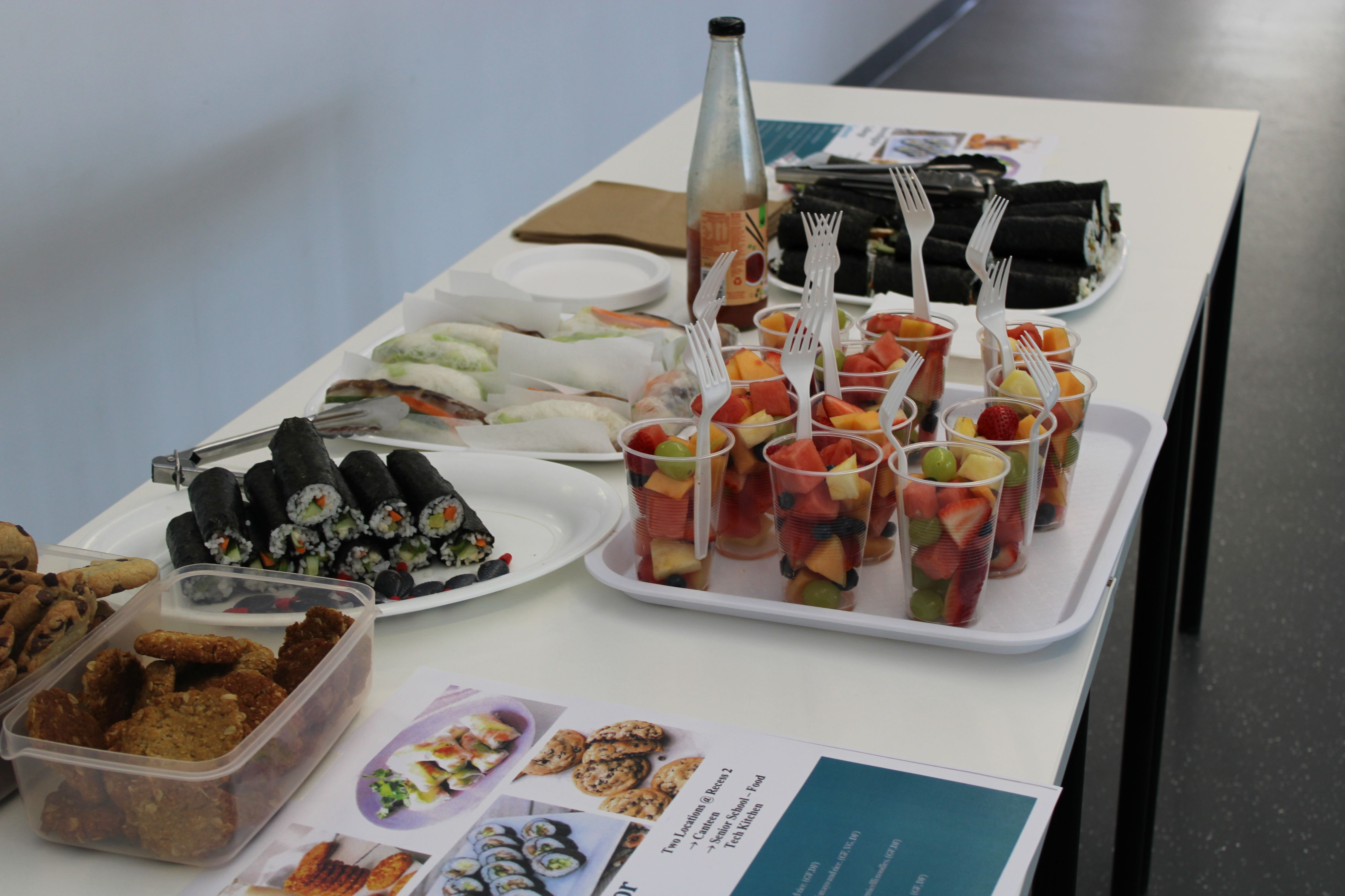 Year 11 Food & Hospitality Canteen Sales | 2020