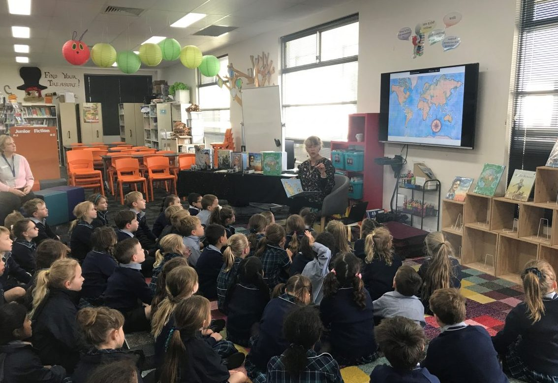 A Visit From Jane Jolly   Book Week   2020